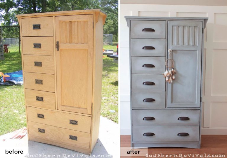 Southern-Revivals_gray-wardrobe_refined-rustic
